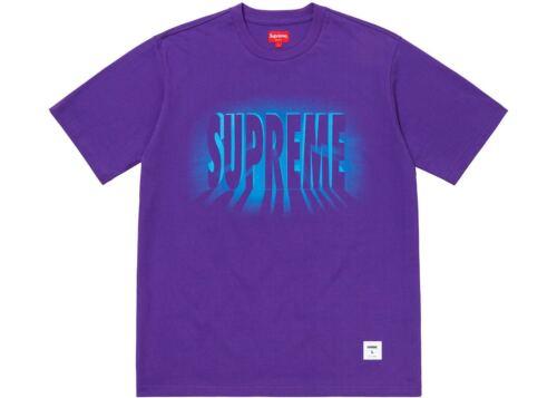 Supreme Light SS Top Purple Size L Large NEW 100/% Authentic FW18