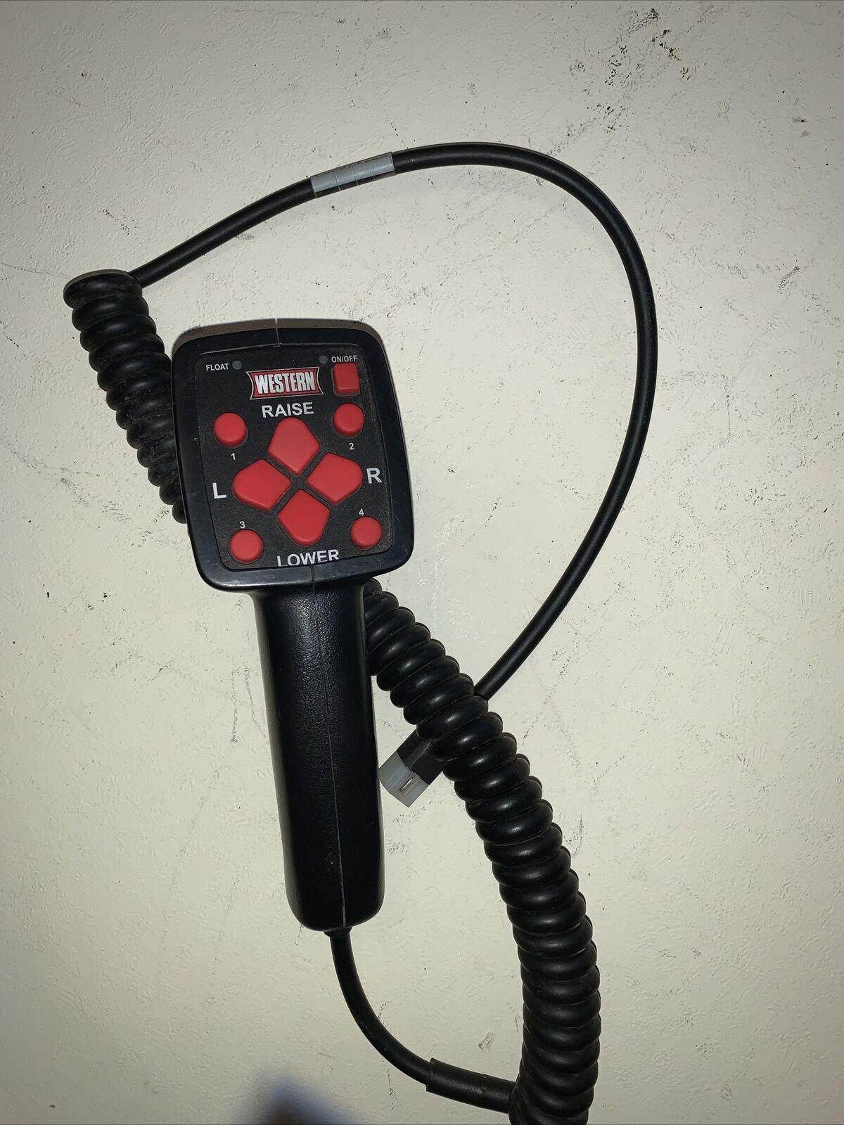Multi-Position Plow Handheld Control Western Plow Part #96500