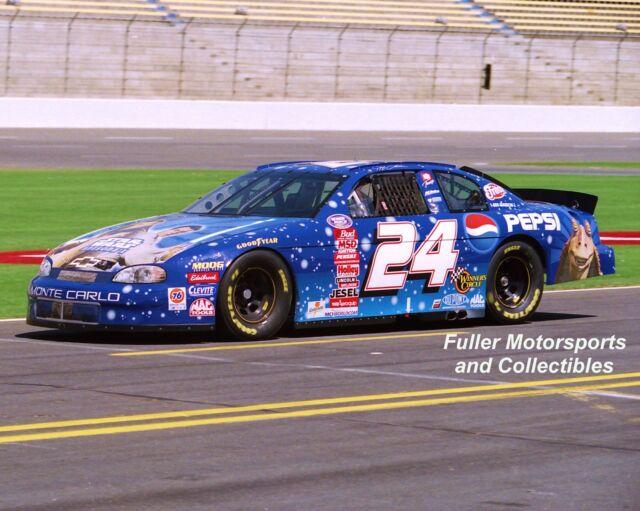 JEFF GORDON 24 STAR WARS EPISODE 1 PEPSI NASCAR BUSCH SERIES 1999 8X10 PHOTO