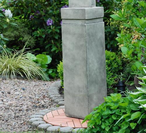 SET SKULPTUR & SOCKEL Figur Büste ART DECO Steinguß Steinguß Steinguß Da. a4657b