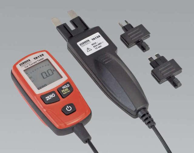 Sealey TA125 Corriente Ensayador 80A para Mini & Maxi Fusibles Ideal Para
