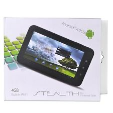 """Trio Stealth Pro 4.0 1.2GHz 512MB 4GB 7"""" Capacitive Touchscreen Tablet Android 4"""