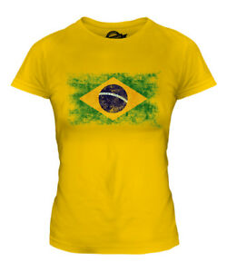 BRAZIL-DISTRESSED-FLAG-LADIES-T-SHIRT-TOP-BRASIL-FOOTBALL-BRAZILIAN-GIFT-SHIRT