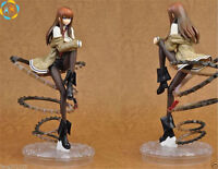 "Anime Steins Gate Makise Kurisu 1/8 PVC 22cm/8.7"" Figure Figurine New in Box"