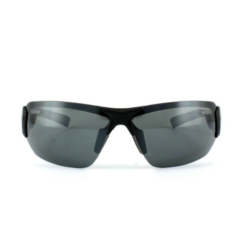 Polaroid Sport Sunglasses P7422 08A Y2 Black /& Grey Grey Polarized