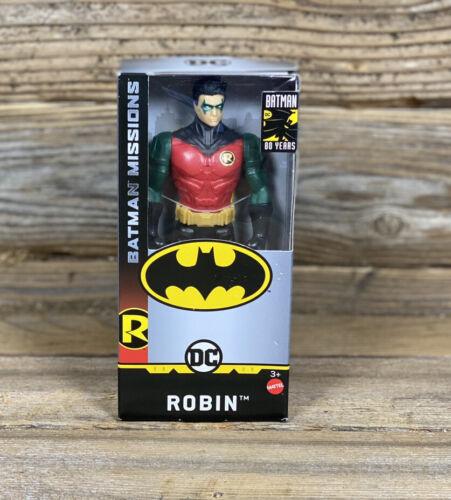 "DC Comics Batman missions 80 ans Robin 6/"" Action Figure NEW IN BOX"