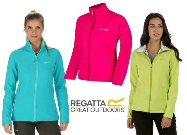 RG1072 Regatta Great Outdoors Womens//Ladies Connie III Full Zip Softshell