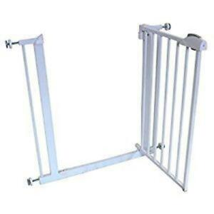Stair Gate Isafe Centre Opening Pressure Mounted Ebay