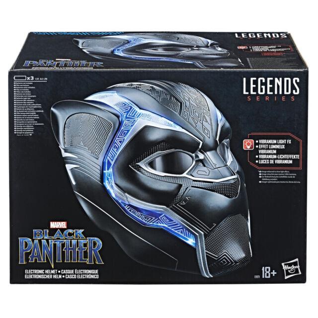Black Panther - Juguete Héroe Black Panther Legends casco (Hasbro E1971EU4)