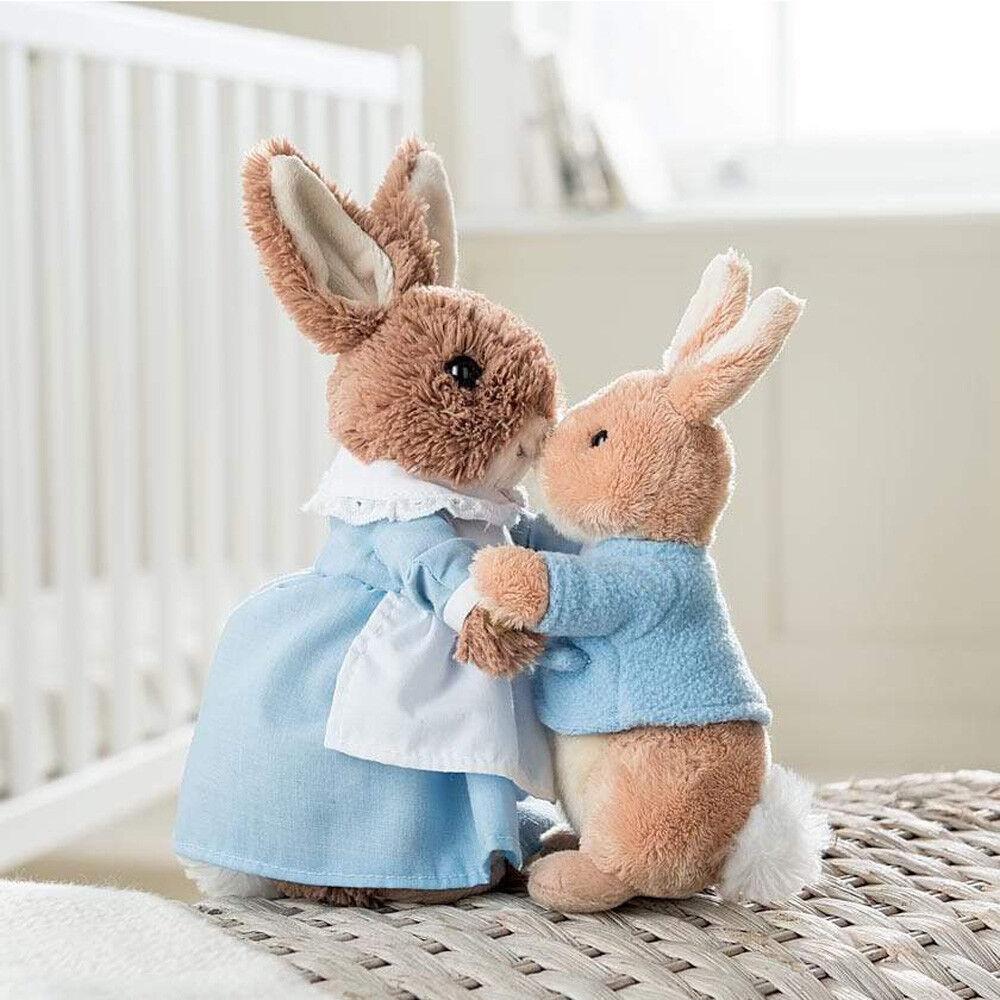 Peter Mrs Rabbit Soft Plush Toy Duo Set