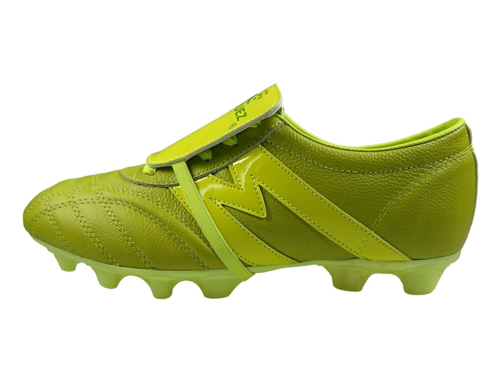 da4de7ae4ee Soccer Cleats Manriquez MID MID MID SX Total Green Genuine Leather 5e7e65