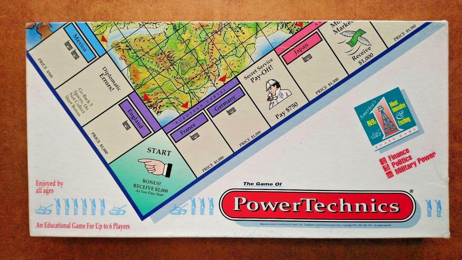 Powertechns, begränsad Edition 1992 (Looks Outlayed)