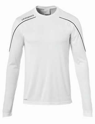 Men's Clothing Uhlsport Sport Football Soccer Training Mens Long Sleeve Jersey Shirt Top Crew N Good For Antipyretic And Throat Soother Activewear Tops