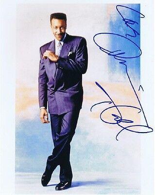 Authentic Autograph Arsenio Hall Color Photo Ebay