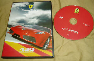 FERRARI 430 SCUDERIA Video - DVD - no brochure catalogue Prospekt F430 95998067 - Oldebroek, Nederland - EBay FERRARIFerrari 430 Scuderia promotional video - dealer use onlyServing as the successor to the 360 Challenge Stradale the 430 Scuderia was unveiled by Micheal Schumacher at the 2007 Frankfurt Auto Show. Engine: V8 510 HP 470 Nm - Oldebroek, Nederland