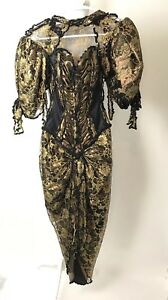 vintage carol carole lee lace dress gallery wearable art