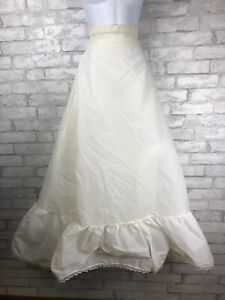 Vintage-Sweetheart-Slips-Crinoline-Petticoat-Slip-for-Ball-Gown-Wedding-Small