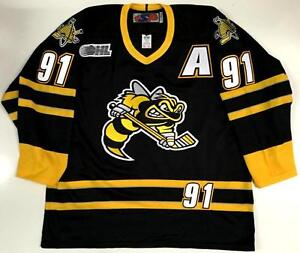new concept d933c 69468 Details about STEVEN STAMKOS SARNIA STING JERSEY OHL TAMPA BAY LIGHTNING
