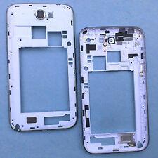 100% Original Samsung Galaxy Note 2 N7100 Lado Cubierta trasera + Cámara Cristal Grado C