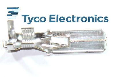 1 - 100 Stück Kabelschuhe Flachstecker 4 - 6 Mm² 9,5 X 1,2 Stecker Pinn Amp