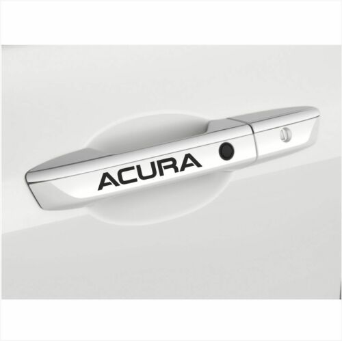 "2pcs ACURA LOGO DOOR HANDLE DECAL STICKER EMBLEM  M1 5/"" x 3//4/"" 12.8 x 1.9 cm"