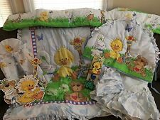 Little Suzy's Zoo Nursery Crib Bedding Set