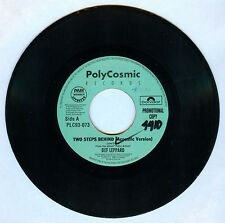 Philippines DEF LEPPARD Two Steps Behind 45 rpm PROMO Record