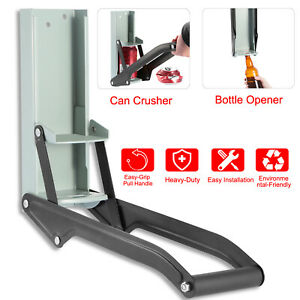 Details About Can Crusher Wall Mounted Aluminum 16oz Beer Heavy Duty Free Ship Us Stock