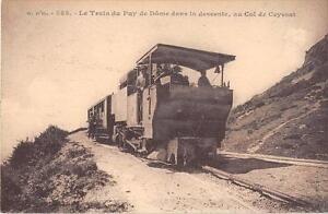 CPA-63-LE-TRAIN-DU-PUY-DE-DOME-DANS-LA-DESCENTE-AU-COL-DE-CEYSSAT-TRAIN-EN-GROS