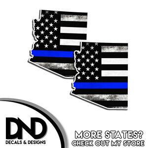 Arizona State Subdued Flag Decal AZ Tactical Military Vinyl Sticker EVM
