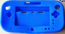 Blue silicone protective case for Nintendo Wii U pro controller