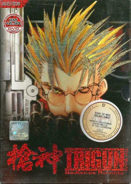 Trigun Badlands Rumble Japan Dvd L60 For Sale Online Ebay