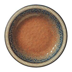 Image is loading MERRITT-CORAL-SANDSTONE-11-034-ROUND-MELAMINE-DINNER-  sc 1 st  eBay & MERRITT CORAL SANDSTONE 11