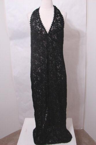 zwart Top 10 Tank stropdas kanten net jurk Green Veronica lange 5SY6xF