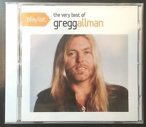 Playlist-The-Very-Best-of-Gregg-Allman-CD-NEW-Greatest-Hits-Brothers
