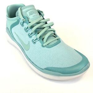 a98104838cc5e Nike Women s Free RN 2018 Sun Running Shoes Island Green Sz 9 AH5208 ...