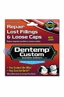 DENTEMP CUSTOM MAXIMUM STRENGTH ONE USE TEMPORARY TOOTH FILLING & FIX LOOSE CAPS