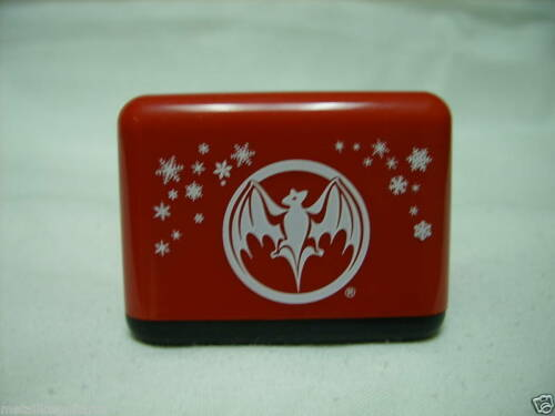 (25) BACARDI RUM - SEASONAL WINTER TABLE TENT / CARD HOLDER  -  *BRAND NEW*
