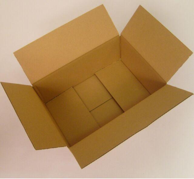 100 Faltkarton 250x175x100 mm (Karton-Innenmass) Versandkartons braun