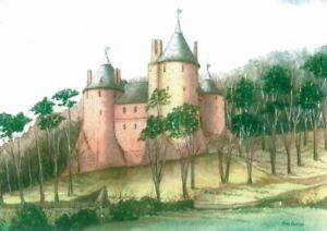 Castle Coch - Greetings Card - Tony Paultyn
