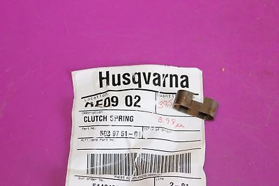 Husqvarna Clutch Spring Part 502 08 03-01 Acquired from a closed dealership.