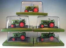 Hachette 1/43 Händlerpreis 5 Stück Fendt F24 - 1958 Traktor Trecker OVP