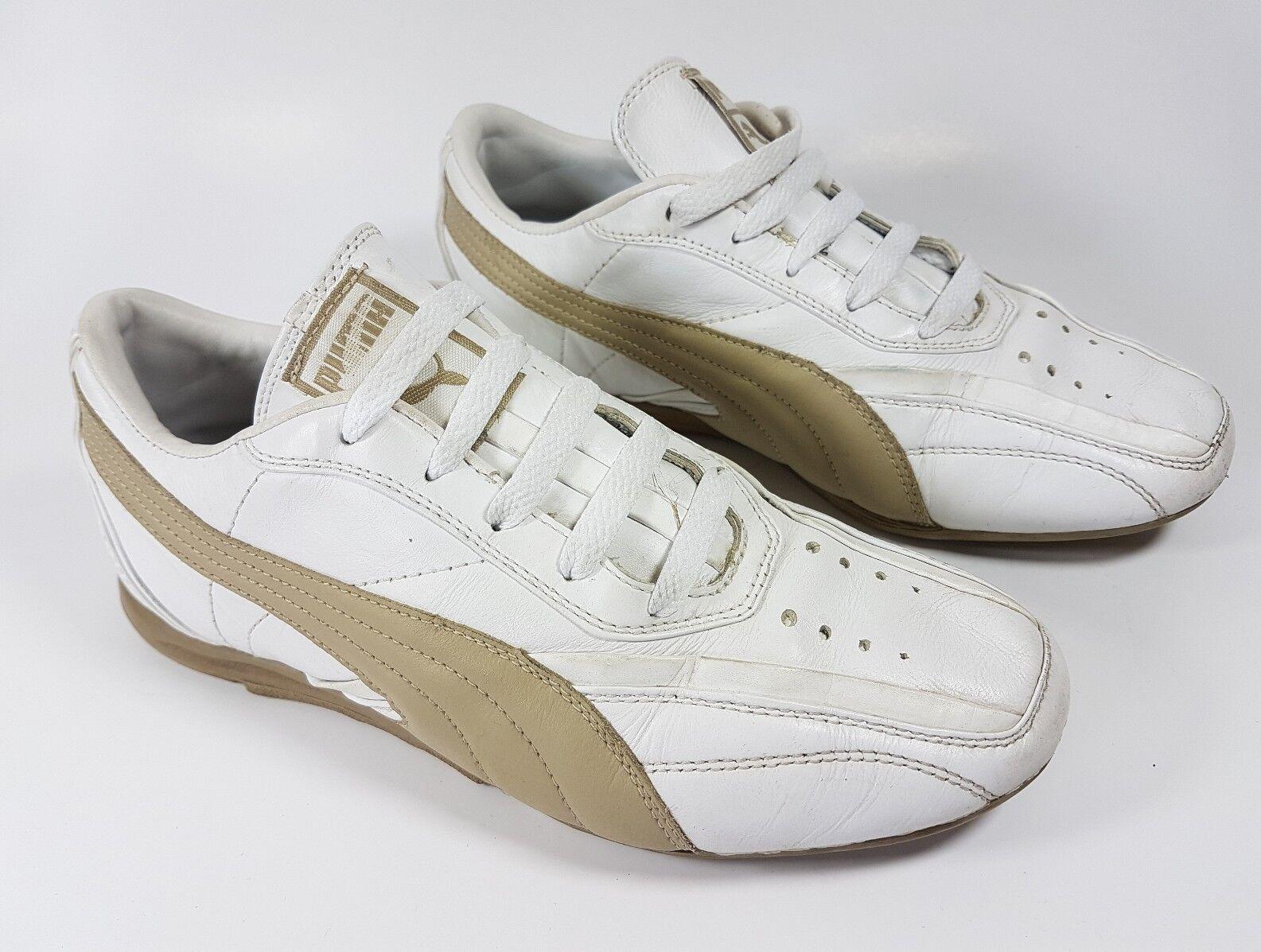 Puma en Cuir Blanc Baskets UK 4.5 EU 37.5
