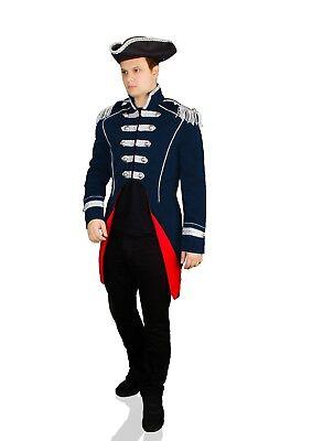 KARNEVALSKOSTÜM SOLDAT NAPOLEON Jacke Uniform Fasching
