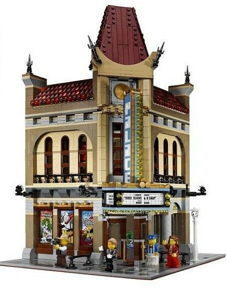 Lego Modular byggnads - Palace Cinema 10232 - No låda (Nuevo y Sellado)