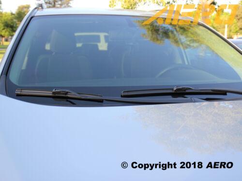 "21/"" OEM Quality All Season Beam Windshield Wiper Blades AERO 24/"" Set of 2"