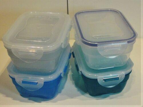 Lock /& Lock 550 ml 1 boîte nestbar Bleu Transparent HPL 311 600 BPA Libre