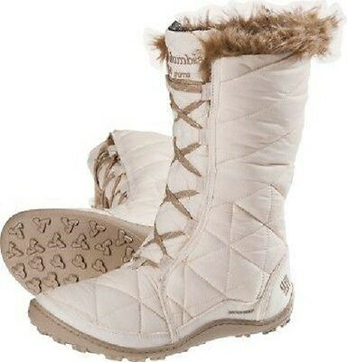 "NEW WOMENS COLUMBIA ""Minx Mid"" WATERPROOF INSULATED WINTER SNOW BOOTS NWT."