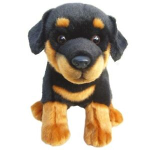 Image Is Loading Toy Rottweiler Quality Collectable Cuddly 12 034 Soft