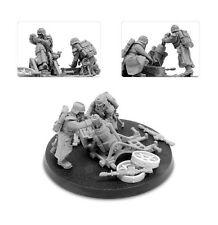 Warhammer 40k Forgeworld Death Korps of Krieg Mortar Team Astra Militarum